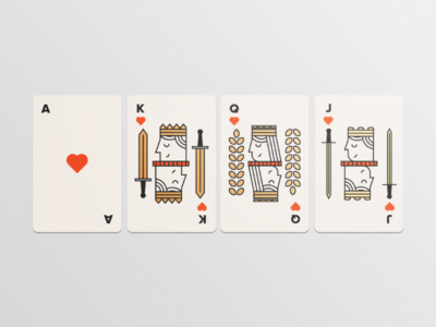 Playing Cards - Illustration