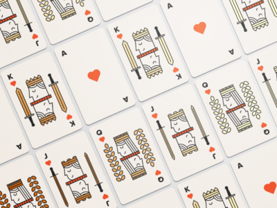 Beer Playing Card - Illustration