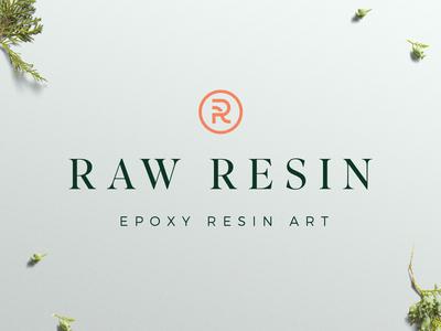 Raw Resin - Logo Design