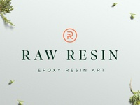 Raw Resin - Logo Design