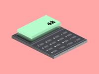 #DailyUi Day4 - Calculator
