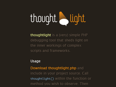Thought light