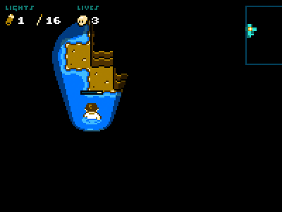 Sankhole 8bit game sinkhole water tileset