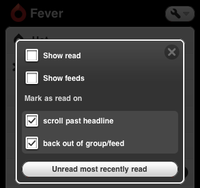 New in Fever 1.12