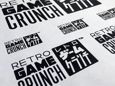Retoro Gēmu Kuranchi custom 8bit game logo vector type