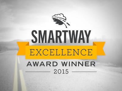 D&D Smartway Award emblem road transportation classic banner seal logo mark award