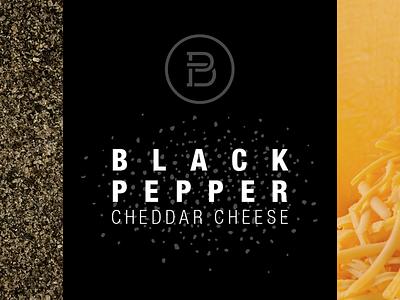Glanbia Black Pepper Cheese pepper cheese label monogram