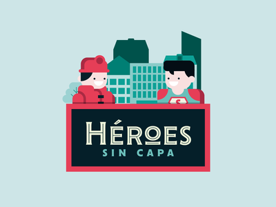 Héroes sin capa graphic design heros hero flat flat design motion design illustrator icon illustration vector motion graphics animation