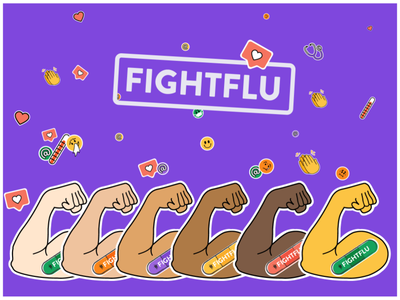 #FightFlu Campaign covid-19