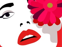 flat fashion illustration