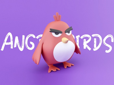 Angry Birds By C4D