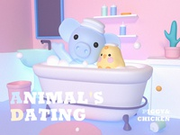Animal's Dating By C4d