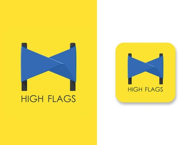 HIGH FLAGS (logo)