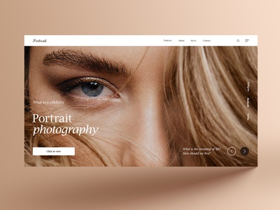 Concept Portrait Photograph 概念 演习