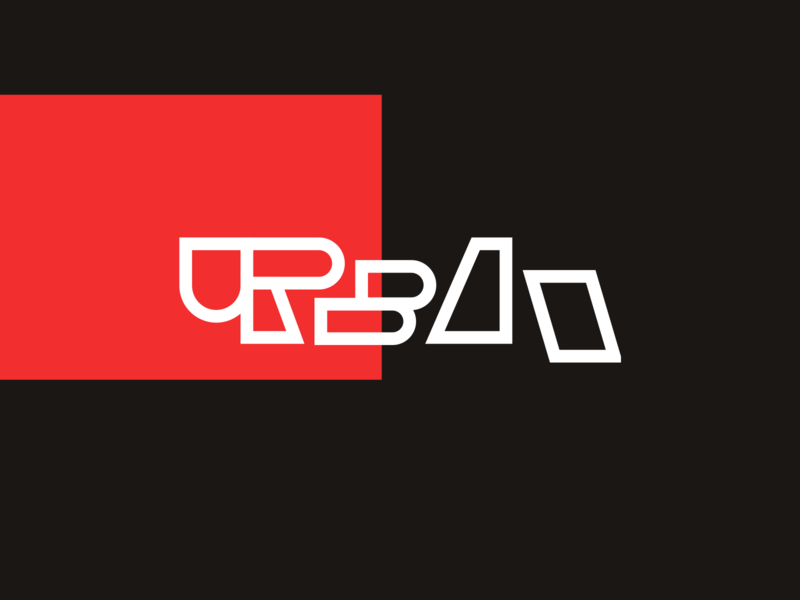 """Urban"" Brand Exploration urban design urban art event urban minimal flat design branding logo typography"