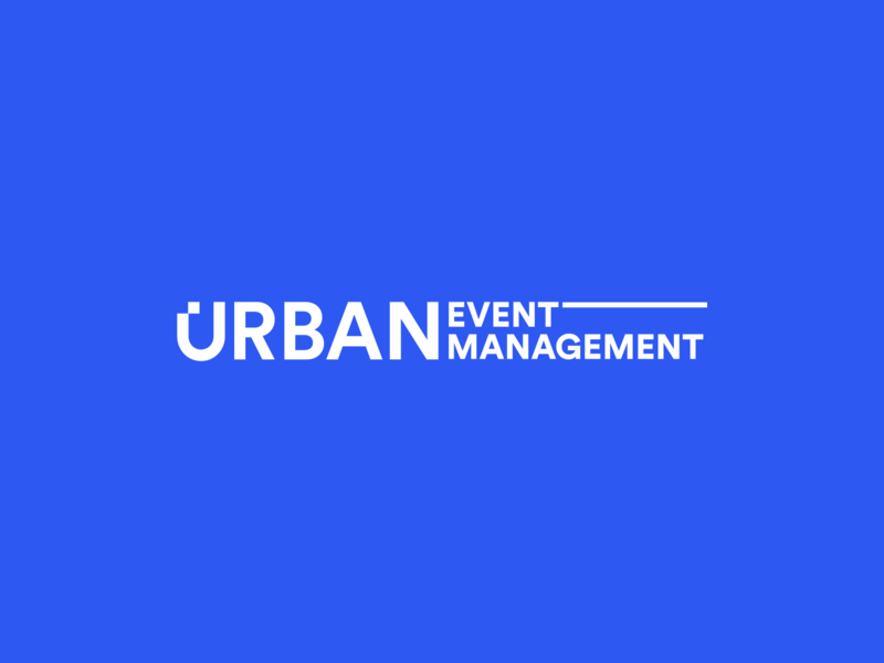 """Urban Eventmanagement"" Logo system corporate identity corporate design logo system urban agency event branding design logo"