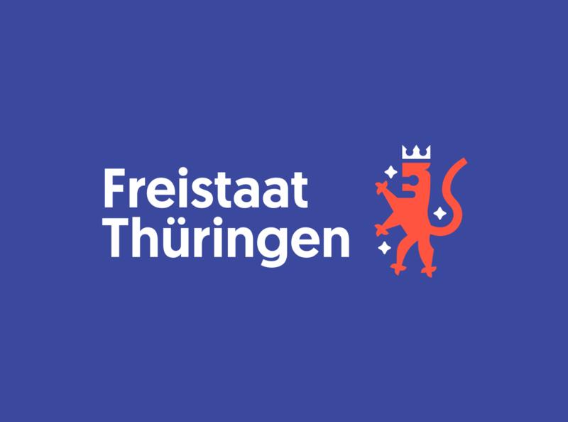 Freistaat Thüringen Redesign - Logo tobimori tobias möritz thüringen thueringen freistaat thueringen redesign concept corporate identity typography vector corporate design flat branding logo design public institution