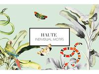 Haute, Luxury pattern