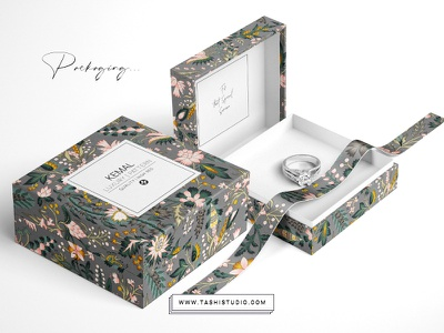 kemal3 fabric art florals illustration design prints textiles patterns watercolor seamless