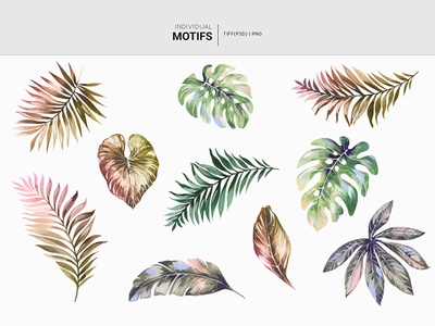 Palms Surface print design! handpainted fabric watercolor florals illustration design prints textiles seamless patterns