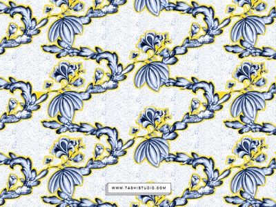 Nellore Pattern2 art fabric watercolor florals illustration design textiles prints seamless patterns