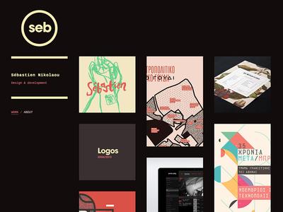 sebdesign.eu portfolio website design development responsive rwd