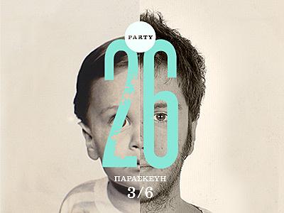 26th birthday party birthday typography photography
