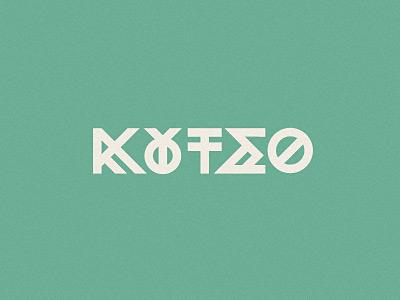 Koutso lettering wip1