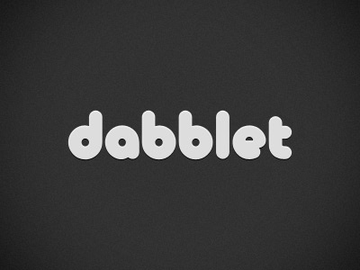 Dabblet rebound logo