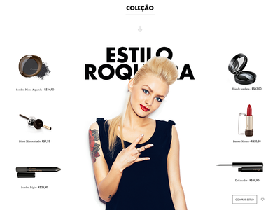 Natura Pitch - Rock & Roll Style style collection responsive desktop beauty cosmetic pitch natura