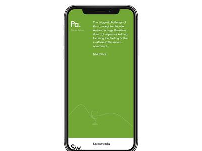 Portfolio - Mobile Version iphonex website responsive portfolio personal new mobile colors colorful case