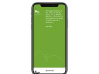 Portfolio - Mobile Version