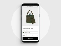 Hender Scheme mobile product view