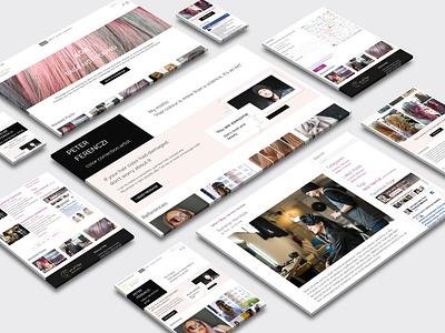 Art of Hair Website UI web ux ui uidesign