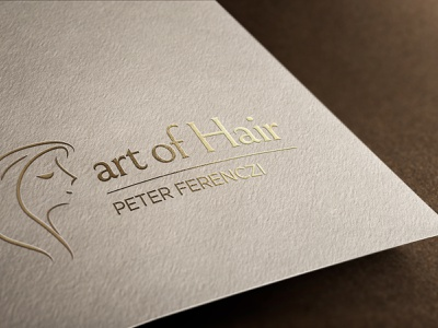 Logo Design and Branding for Art of Hair branding illustration logo
