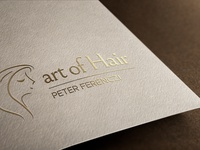Logo Design and Branding for Art of Hair