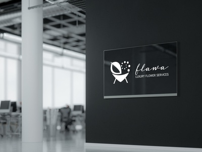 Logo Design, Branding for Flawa Luxury Flower Services