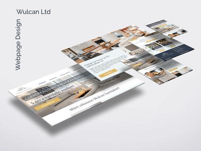 UI/UX design for Wulcan Ltd
