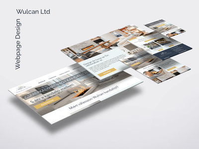 UI/UX design for Wulcan Ltd ux design web uidesign ui
