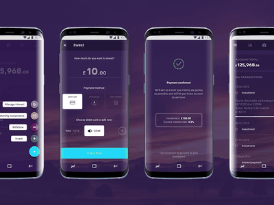 Choice by Octopus Investment - Invest flow button floating bank money investment app design android ux ui