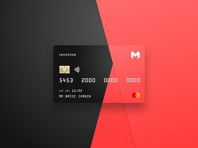 Credit card design bank design ui fintech card debit card credit card