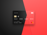 Monzo card 1x