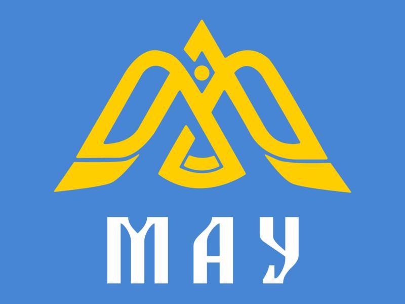 МАУ logo concept icon web  design vector typography branding ui design logo illustrator
