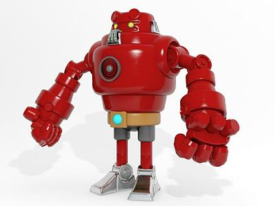 3d robot 3dsmax illustrator illustration 3d