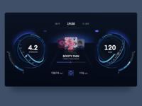 Smart Car Dashboard Design HMI