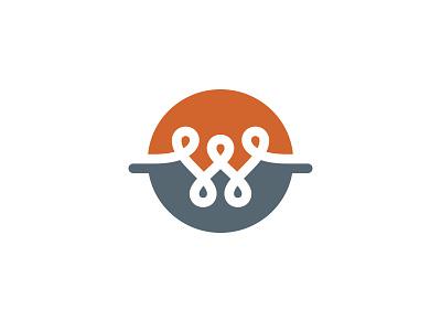 W w wire logo symbol electric electricity electrical