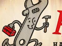 Wrench Mascot