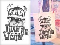I can be your hero // Design for Pugs & Cats