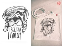 I believe I can fly // Design for Pugs & Cats