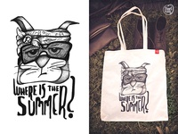 Where is the Summer? // Design for Pugs & Cats
